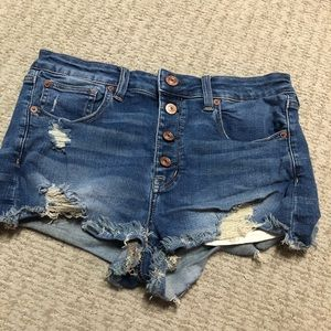 AE High Waisted Shorties